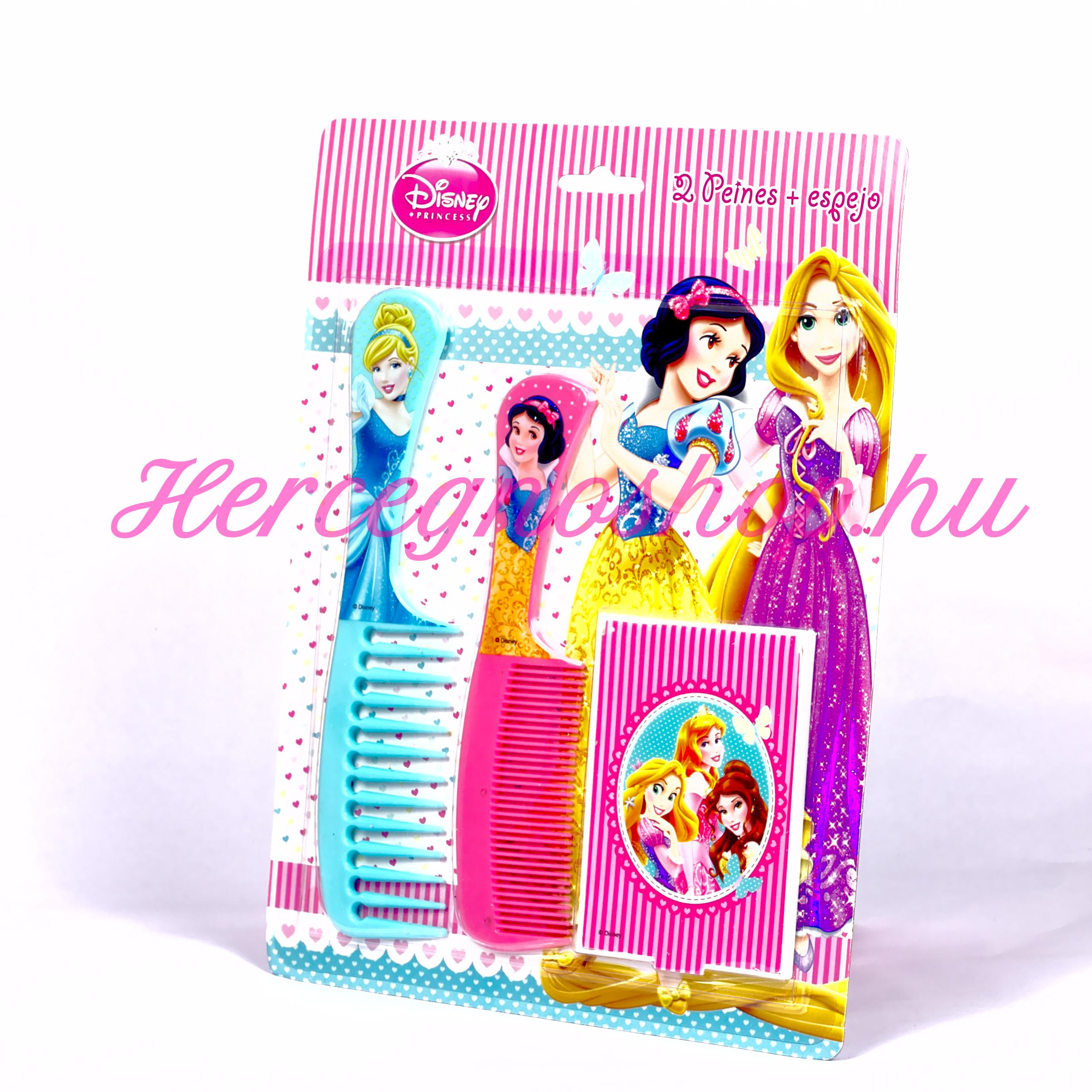 Disney hercegnők fésűkészlet (Disney Princess)