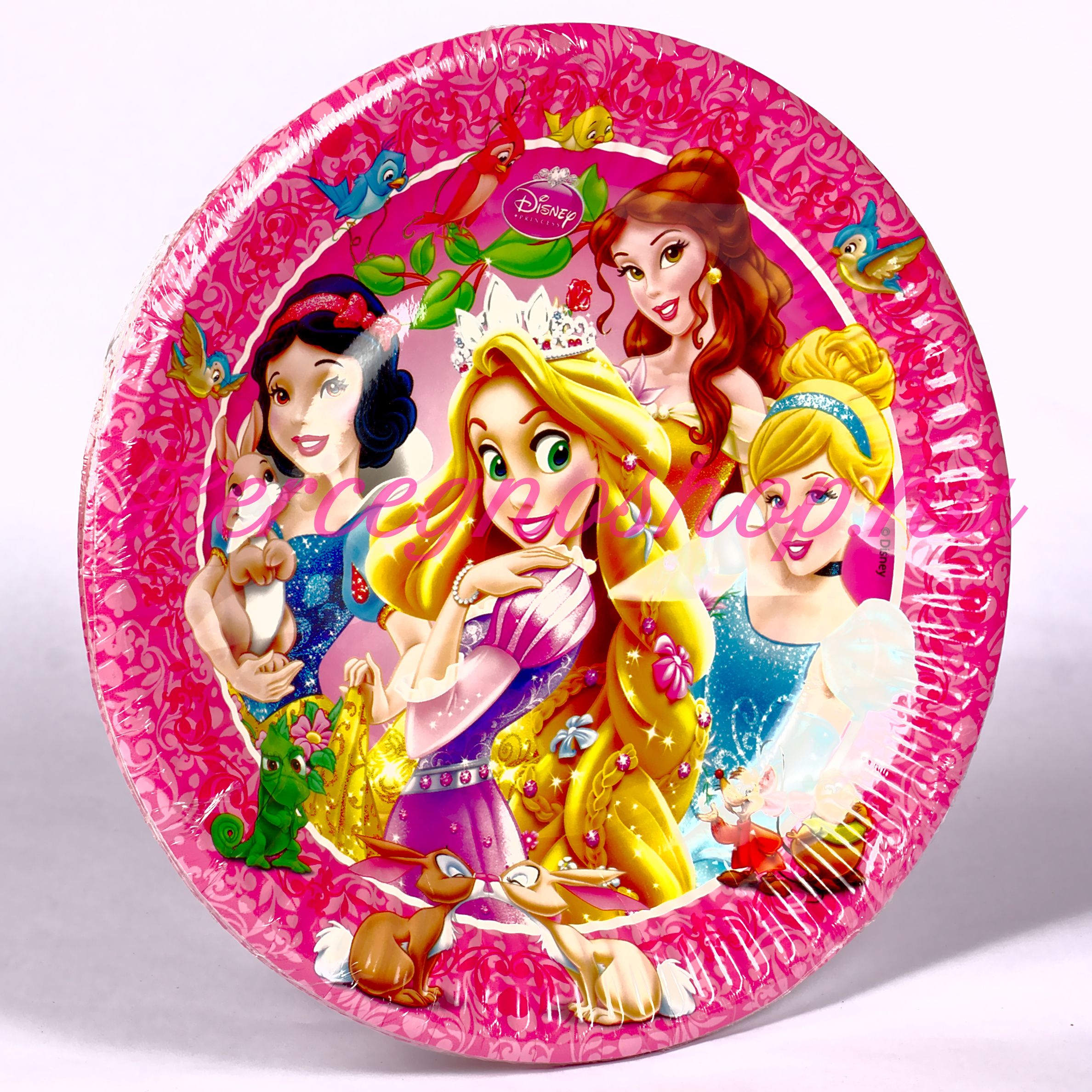 Disney hercegnők papírtányér (Diseny Princess)