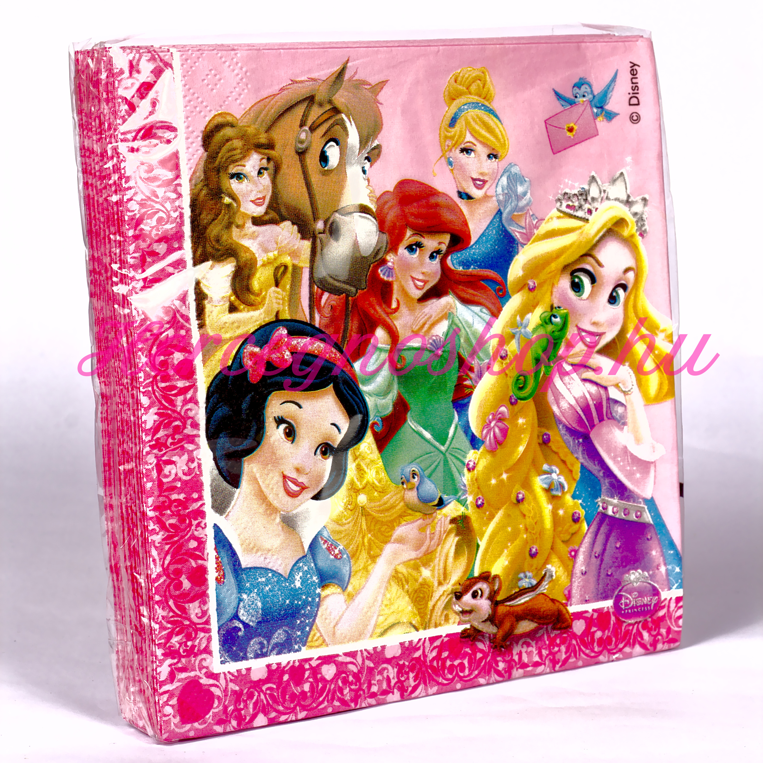 Disney hercegnők szalvéta (Disney Princess)