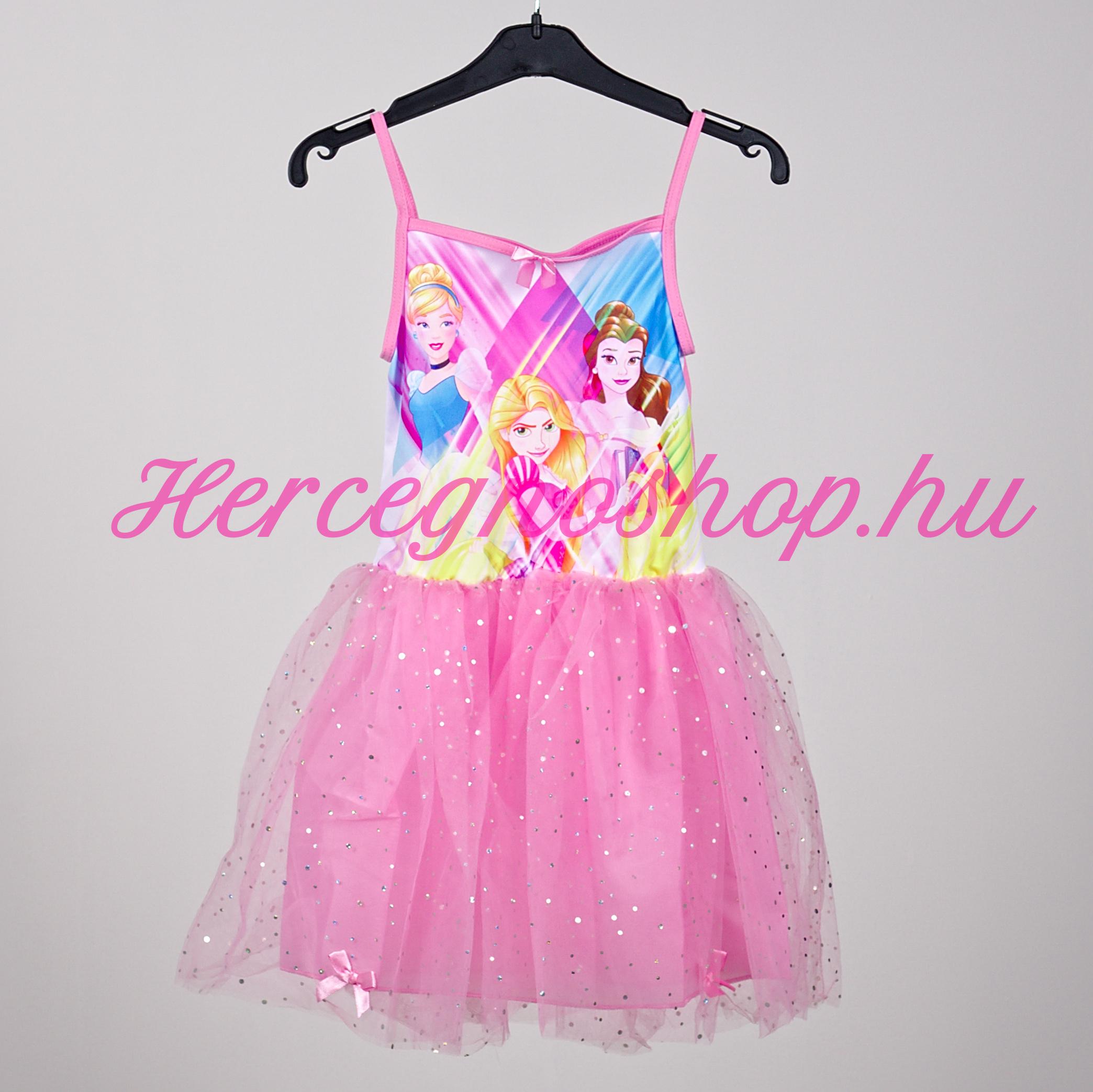 Disney hercegnők party ruha – rózsaszín (Disney Princess)