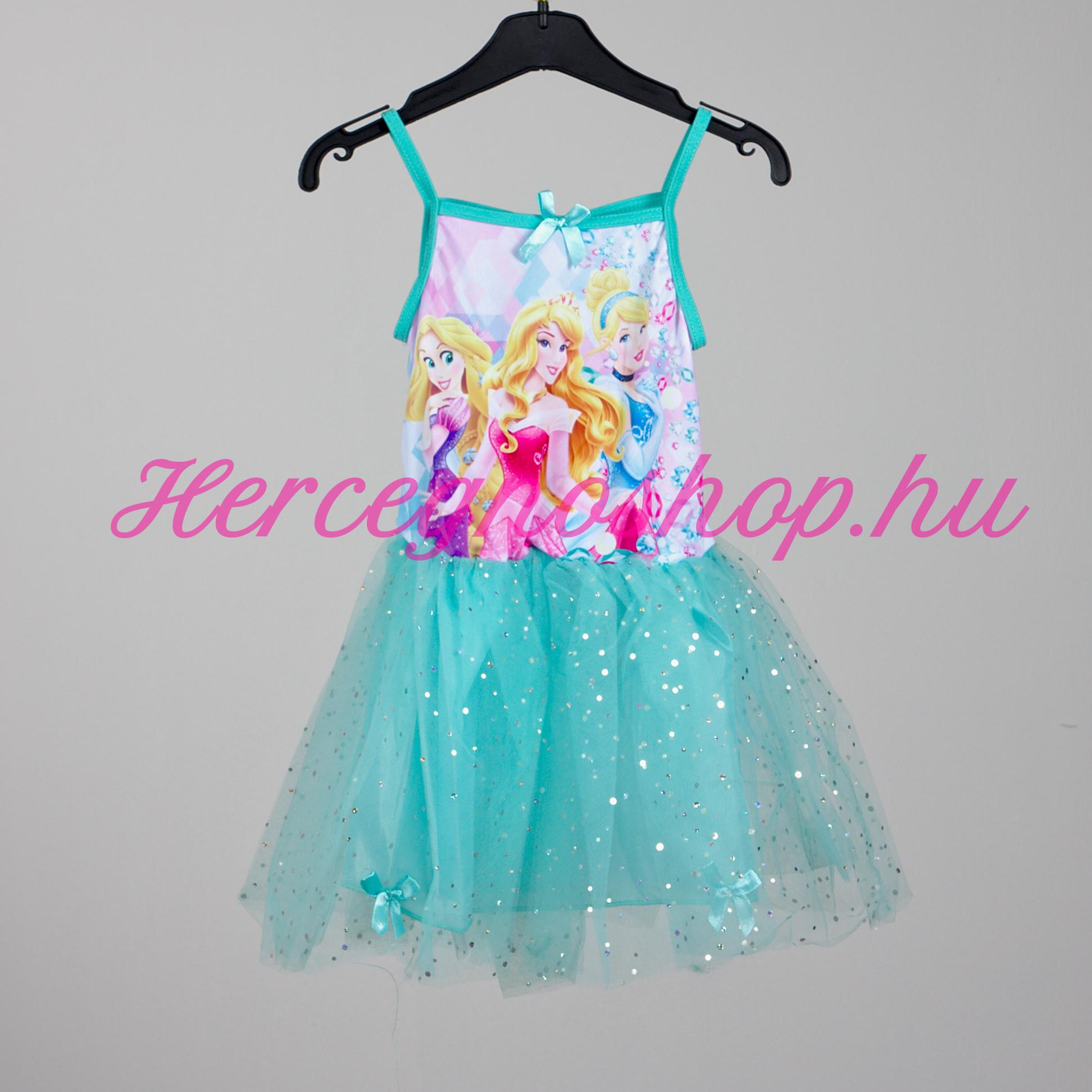 Disney hercegnők party ruha – kék (Disney Princess)