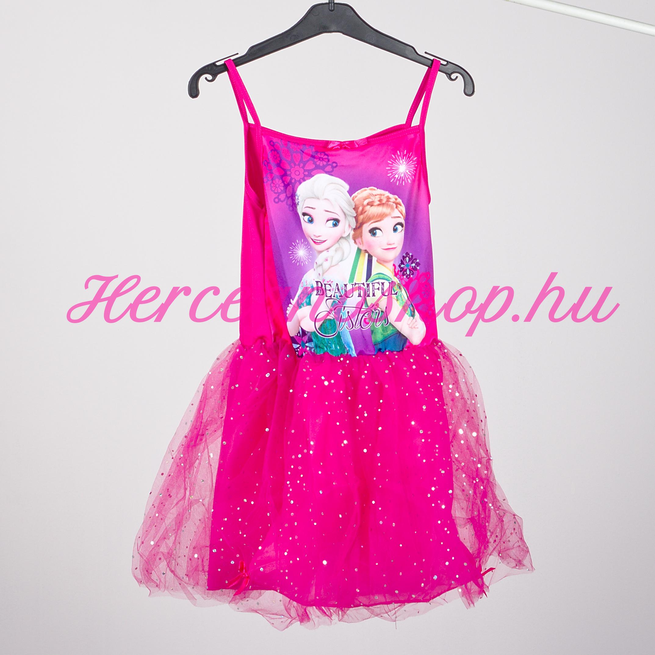 Jégvarázs party ruha – rózsaszín (Disney Frozen)