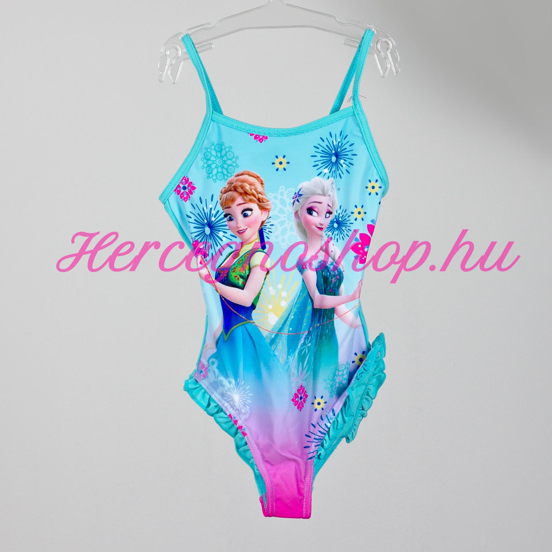 Jégvarázs fürdőruha – kék (Disney Frozen)