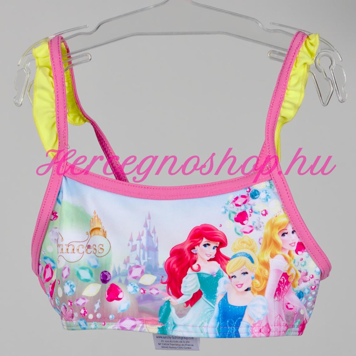 Disney hercegnők bikini – világos rózsaszín (Disney Princess)