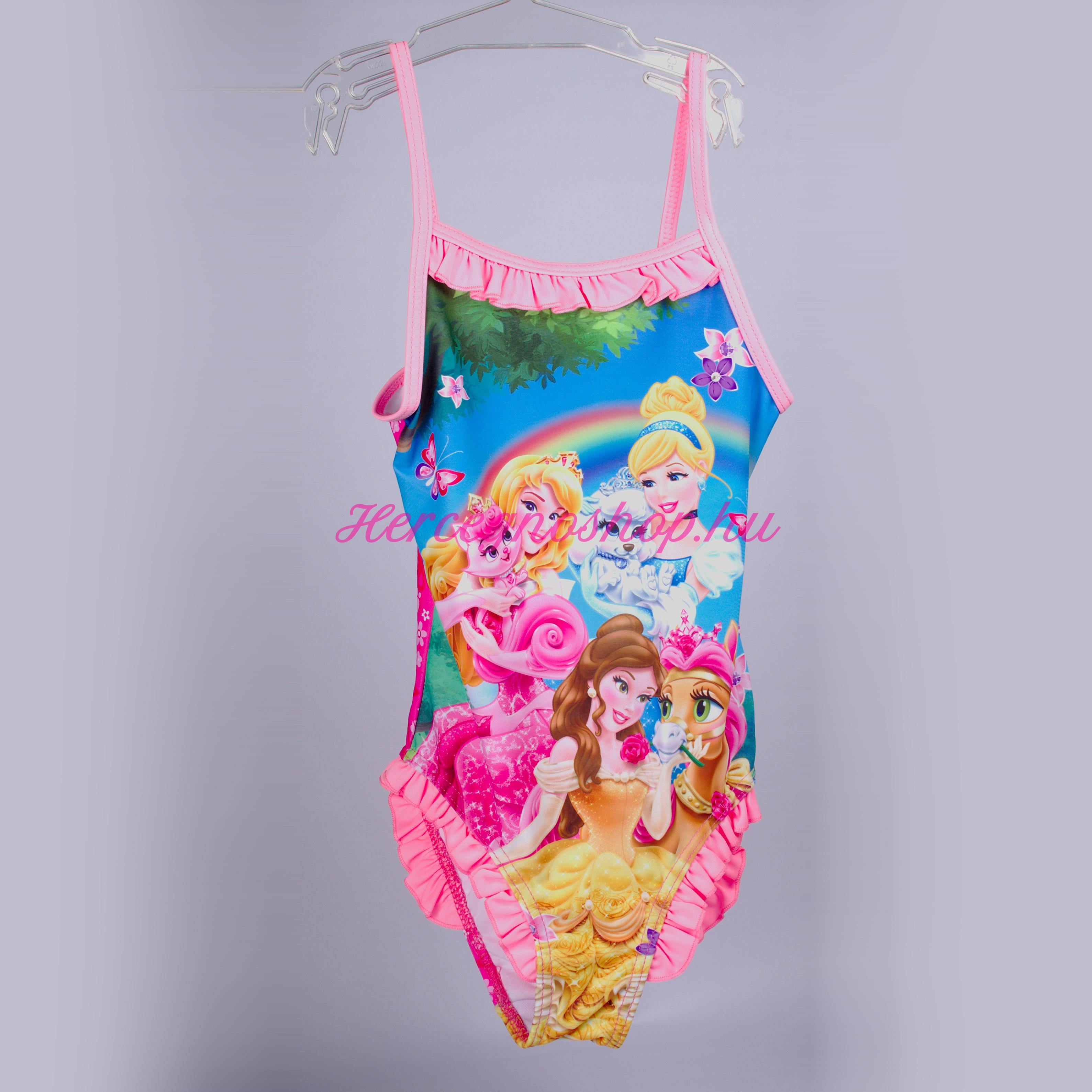 Disney hercegnők fürdőruha – világos rózsaszín (Disney Princess)
