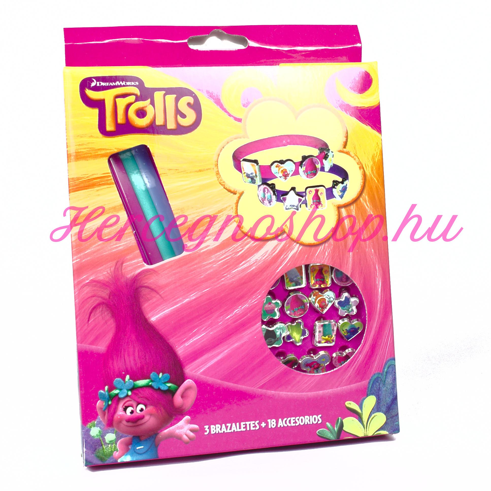 Trollok karkötő készítő (Trolls)