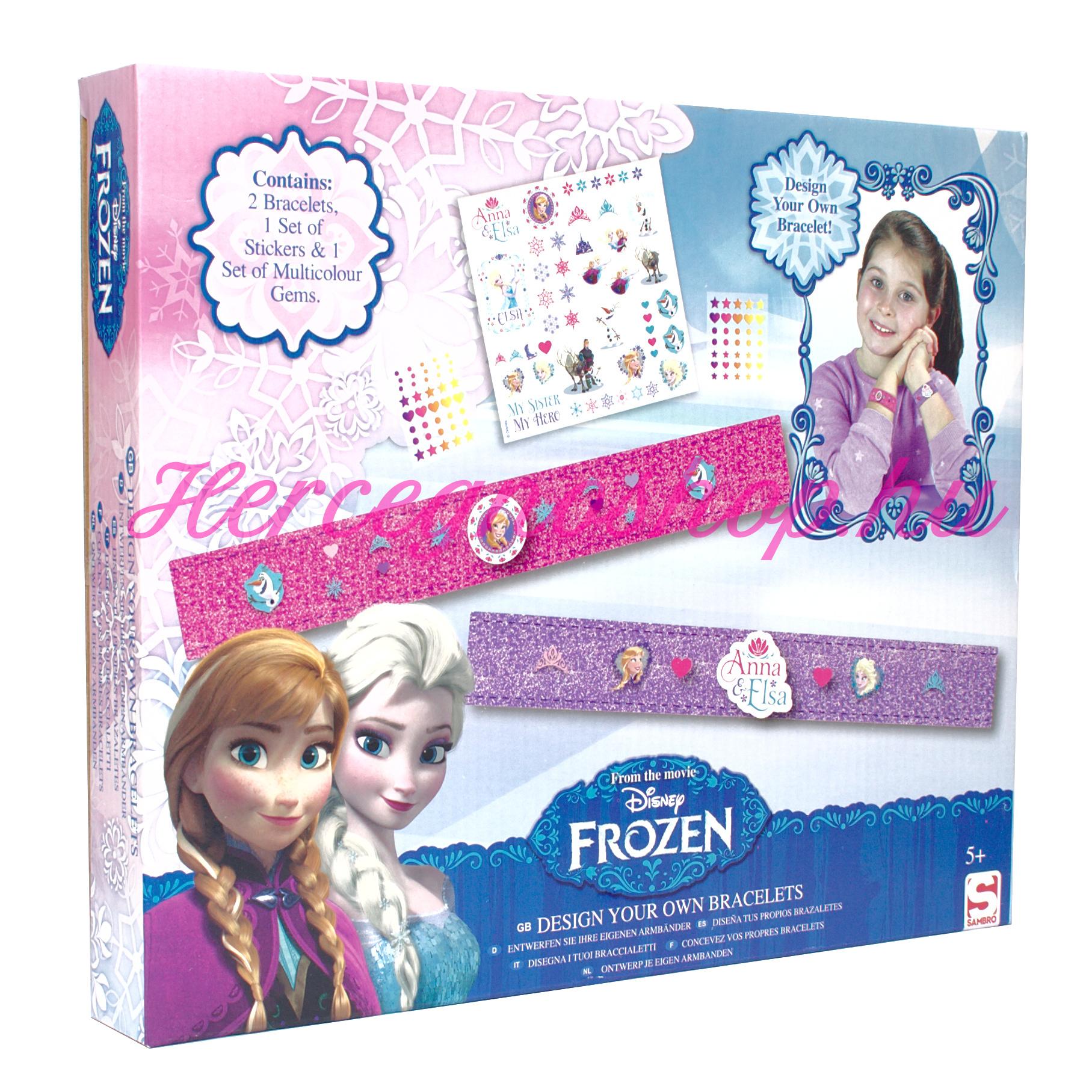 Jégvarázs karkötő készítő (Disney Frozen)