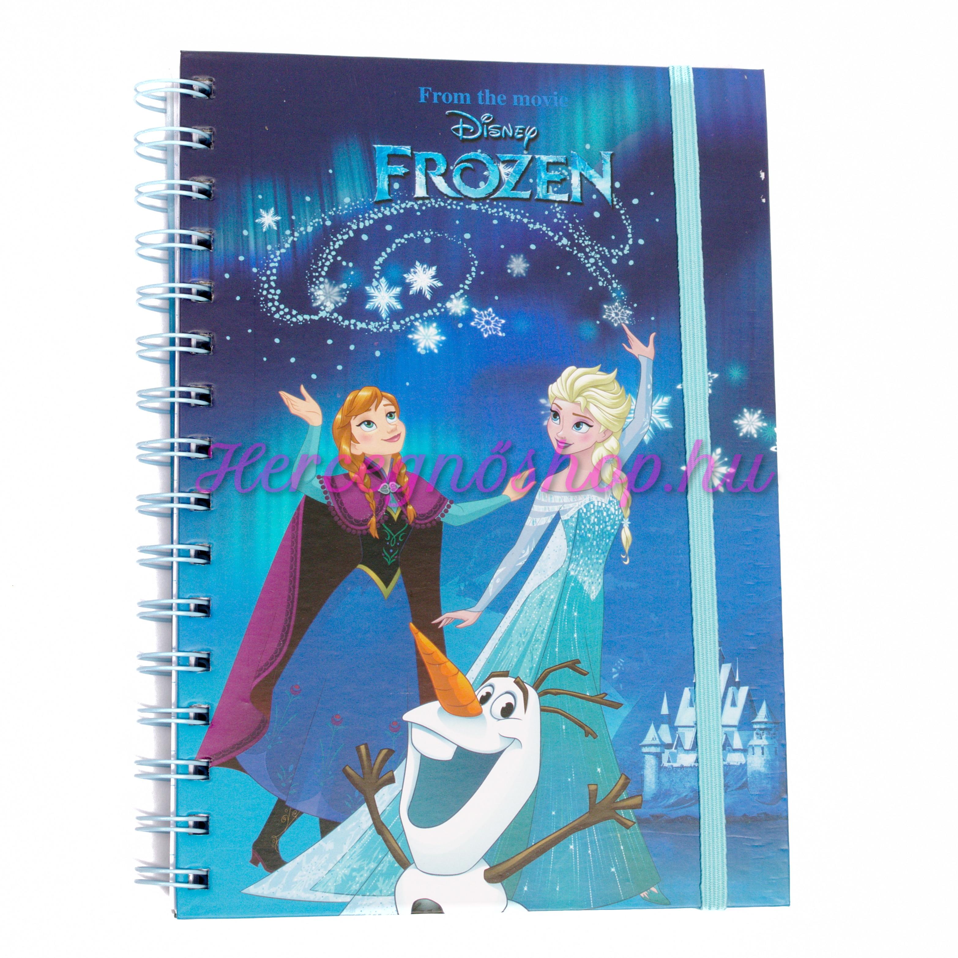 Jégvarász spirálfüzet (Disney Frozen)