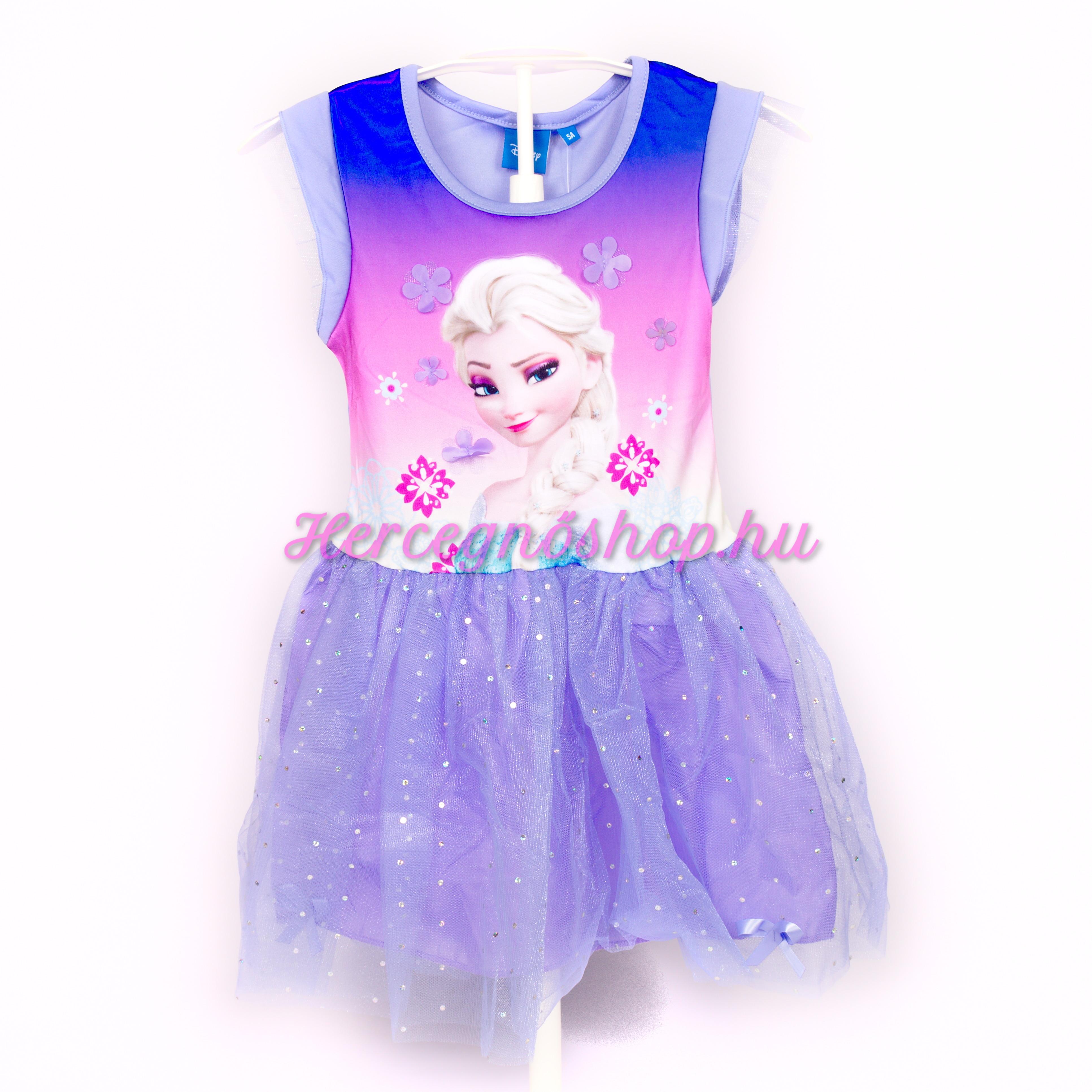 Jégvarázs party ruha – lila (Disney Frozen)