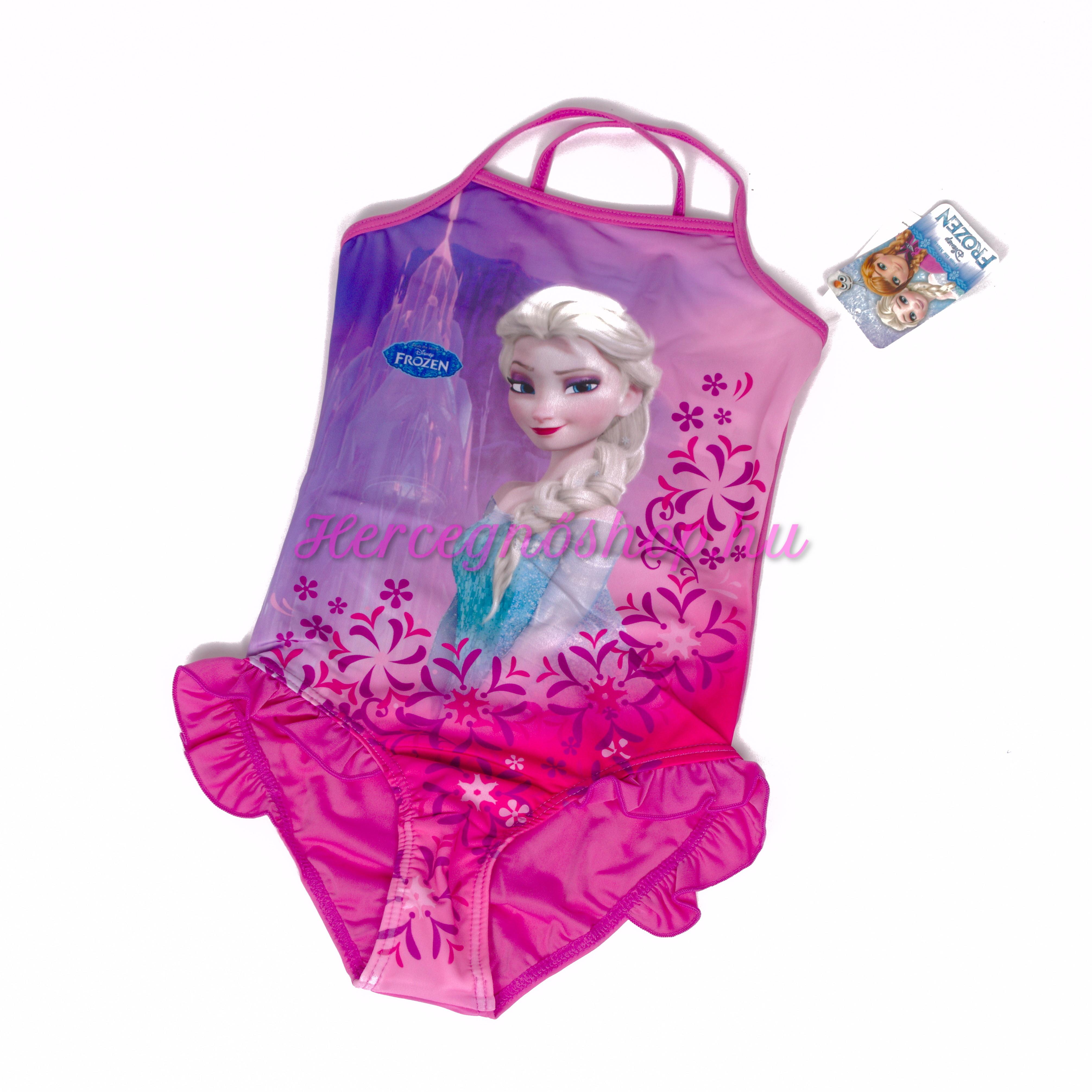 Jégvarázs fürdőruha – lila (Disney Frozen)