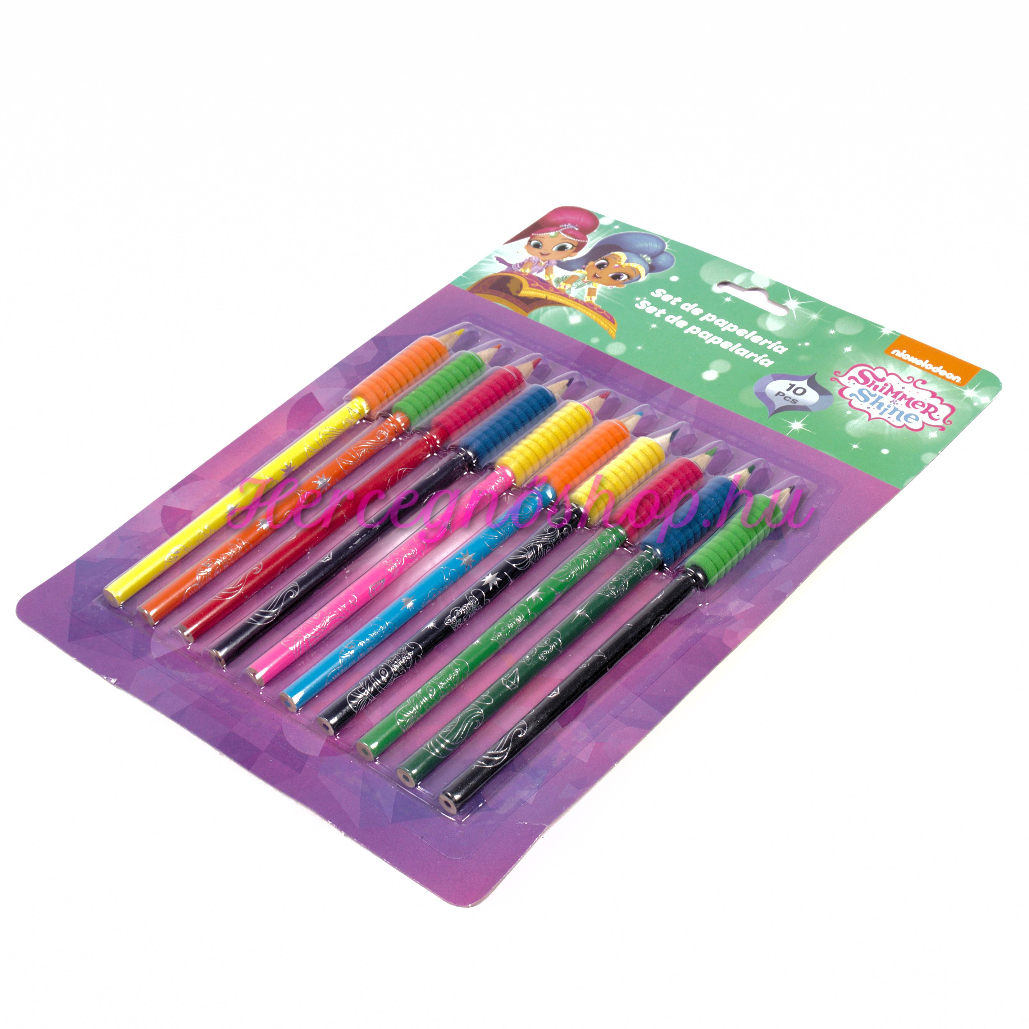 Shimmer és Shine színes ceruza készlet (Shimmer and Shine)