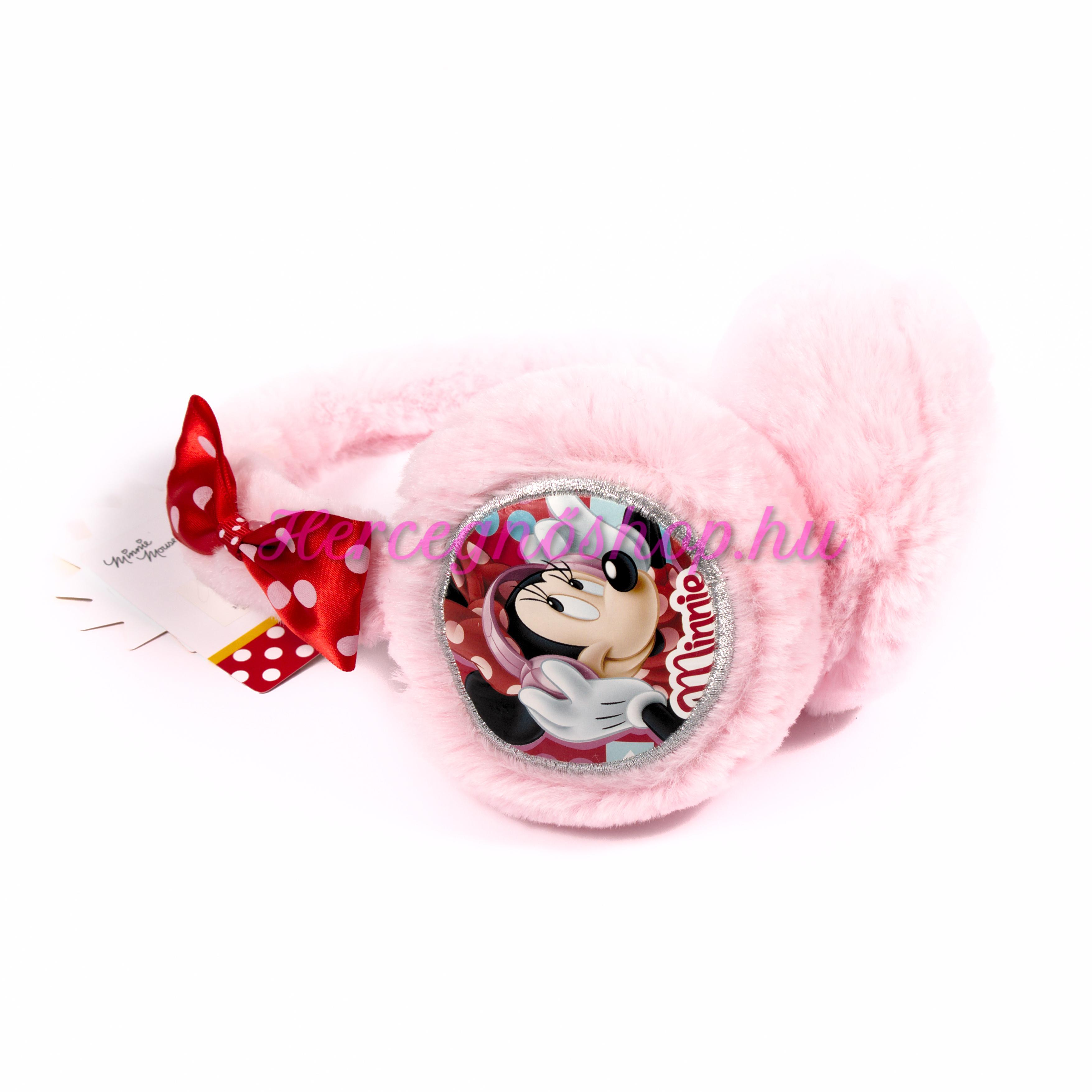 Minnie világos rózsaszín fülvédő