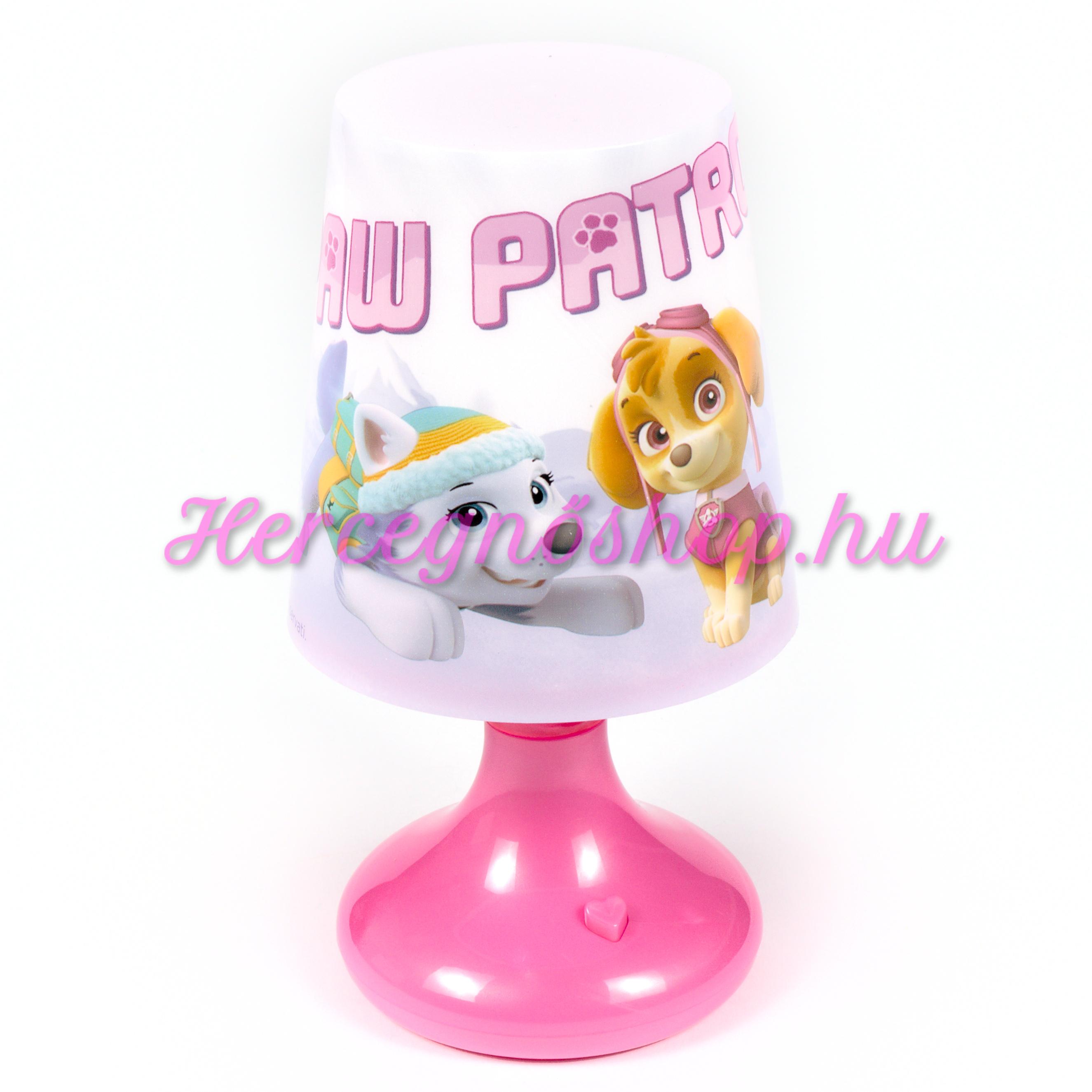 Mancs őrjárat LED lámpa (Paw Patrol)