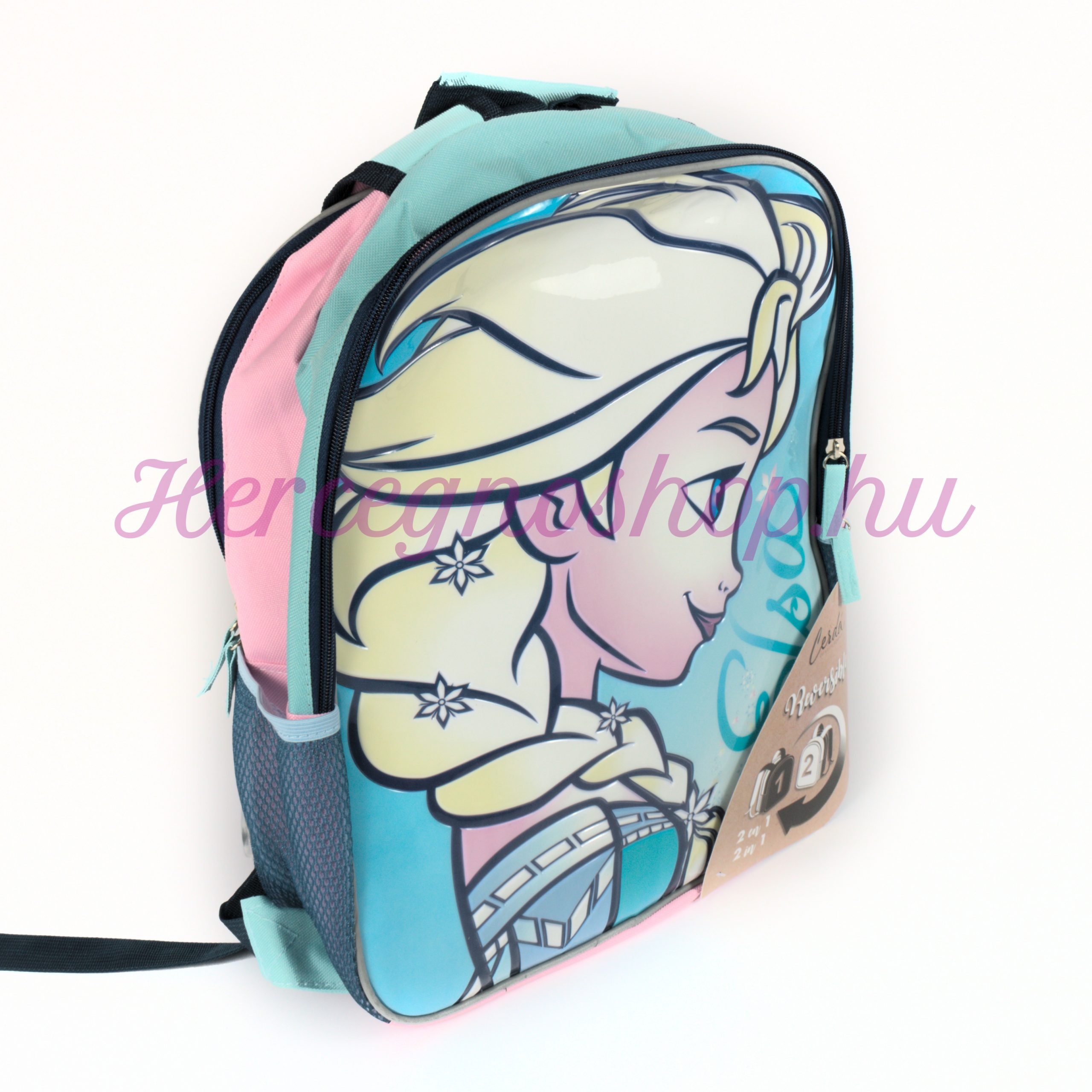 Jégvarázs megfordítható hátizsák (Disney Frozen)